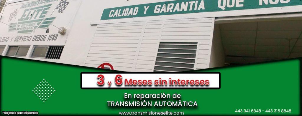 Transmisiones automáticas en Morelia Michoacán Mexico